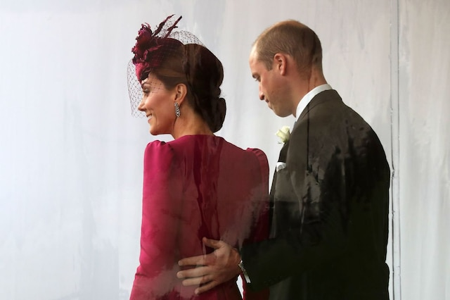 Le duc et la duchesse de Cambridge.