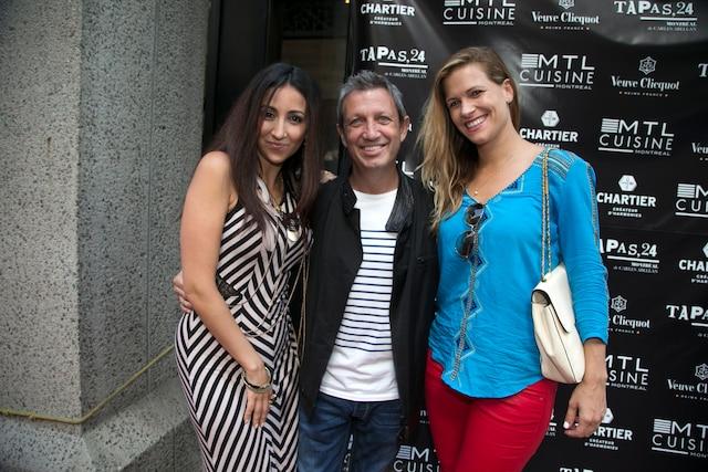 Lynda Thalie, Thierry Daraize et Ima