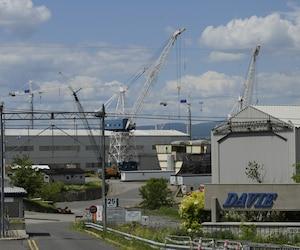 Le chantier maritime Davie