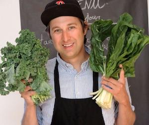 Le blogueur et chroniqueur bouffe Bob le Chef aime utiliser des ingrédients différents dans ses recettes. Selon lui, le kale est le bacon des végétariens.