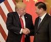 Le président américain Donald Trump et le président chinois Xi Jinping le 9 Novembre dernier.