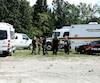 Des plongeurs de la Sûreté du Québec ont fouillé une rivière à M