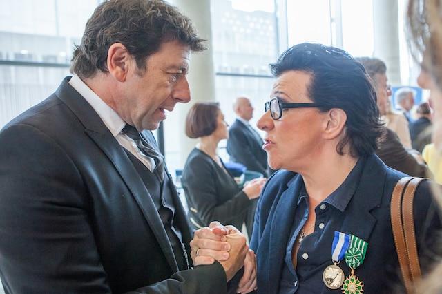 Patrick Bruel et Monique Giroux