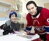 Canadien à l'hôpital ste-justine