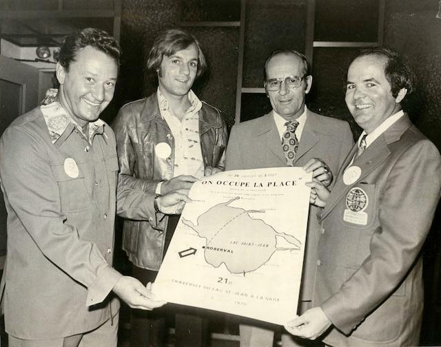 En 1975, Régent Lacoursière avait rencontré le jeune Guy Lafleur lors d'une conférence de presse annonçant la classique du lac Saint-Jean.