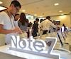 Le Galaxy Note 7 de Samsung a connu un réel engouement au moment de sa sortie au mois d'août.