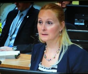 L'analyste Annie Trudel et le député Guy Ouellette travaillent à la création de la norme ISO 37001 sur la corruption.