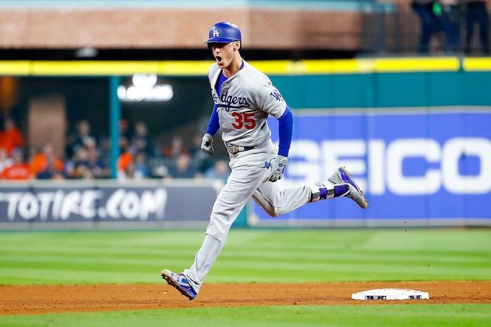 Cody Bellinger, des Dodgers, a frappé 39 circuits cette saison.