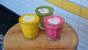 Les lattés colorés: la nouvelle tendance «foodie»