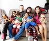Benoît Thomas, 41 ans et Dana Morales, 39 ans, ont reçu un coup de main bien apprécié à l'approche de Noël de la Fondation Jacques-Forest pour eux et leurs enfants Sarah-Sophie, 10 ans, Mario, 4 ans, Dominic, 3 ans et Amy, 14 ans.