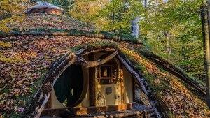 Une maison de hobbit située à 2 h 30 de Montréal