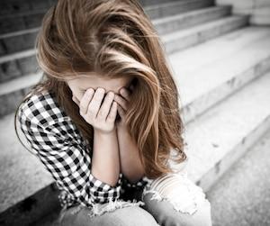 Bloc femme dépression honte regret