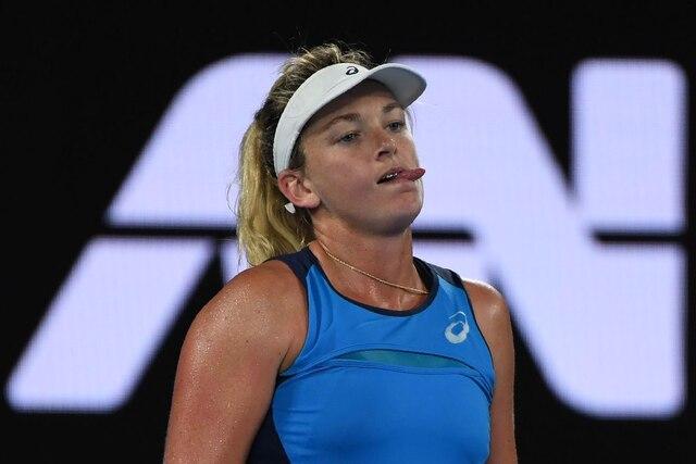 Eugenie Bouchard et Coco Vandeweghe s'affrontaient au troisième tour des Internationaux d'Australie, jeudi.