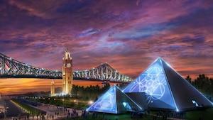 Une pyramide au Vieux-Port de Montréal!