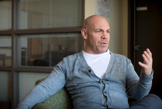 Entrevue avec Maxim Martin, pour la sortie de son livre Excessif.CHANTAL POIRIER/LE JOURNAL DE MONTRÉAL