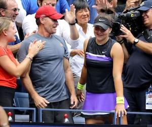 Employé chez Tennis Canada, Sylvain Bruneau a été libéré de ses obligations pour se consacrer exclusivement à Bianca Andreescu, ces derniers mois.