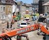La CNESST conclut que la méthode de travail était dangereuse pour les travailleurs sur le chantier des Nouvelles-Casernes en 2018 lorsqu'un mur s'est effondré.