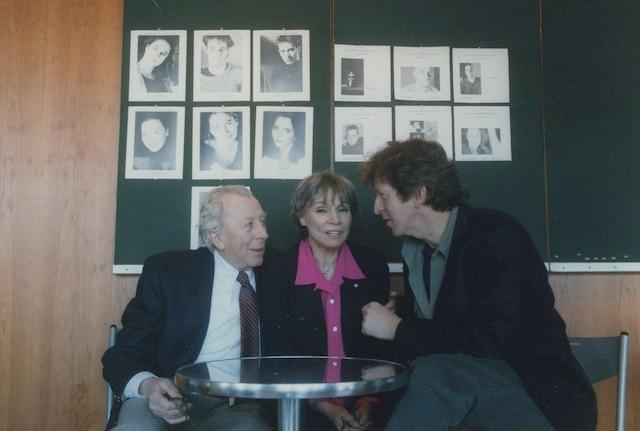 Paul Hébert, Monique Mercure et R.H. Thomson en 1997