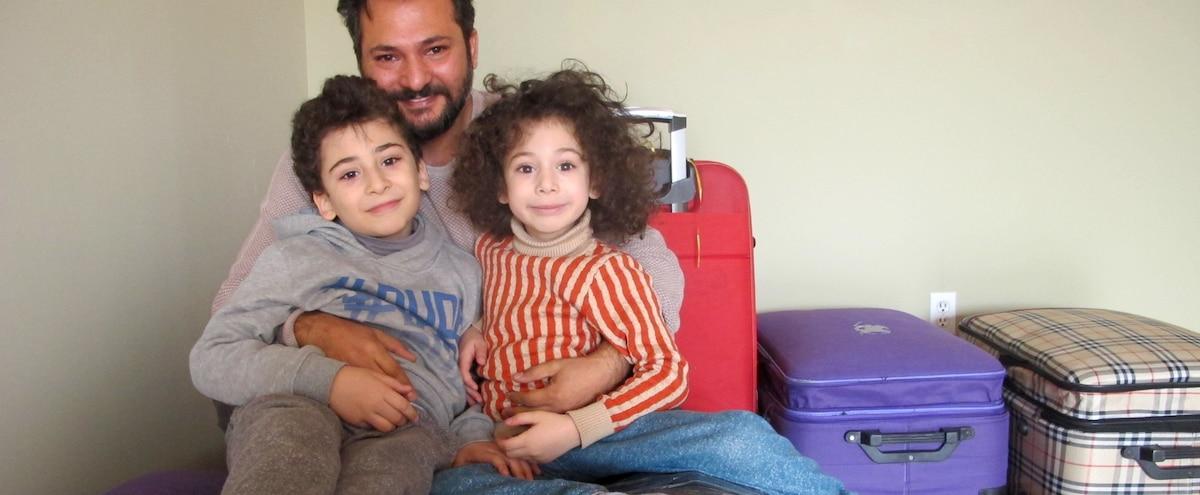 Nouvelle vie pour des réfugiés syriens à Laval