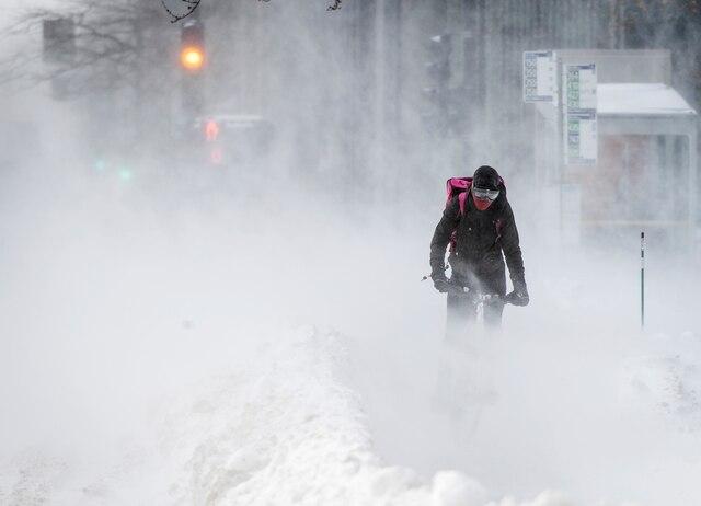 La région de Montréal est de nouveau confrontée à des températures glaciales.
