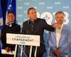 PHOTO D'ARCHIVES MARC-ANDRÉ GAGNON Lors du congrès national de son parti, en mai dernier, le chef de la Coalition avenir Québec, François Legault, a confirmé que Stéphane Le Bouyonnec tenterait de regagner son siège perdu en 2014, dans La Prairie.