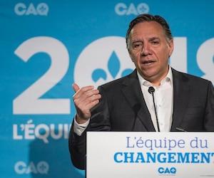 François Legault, chef de la CAQ