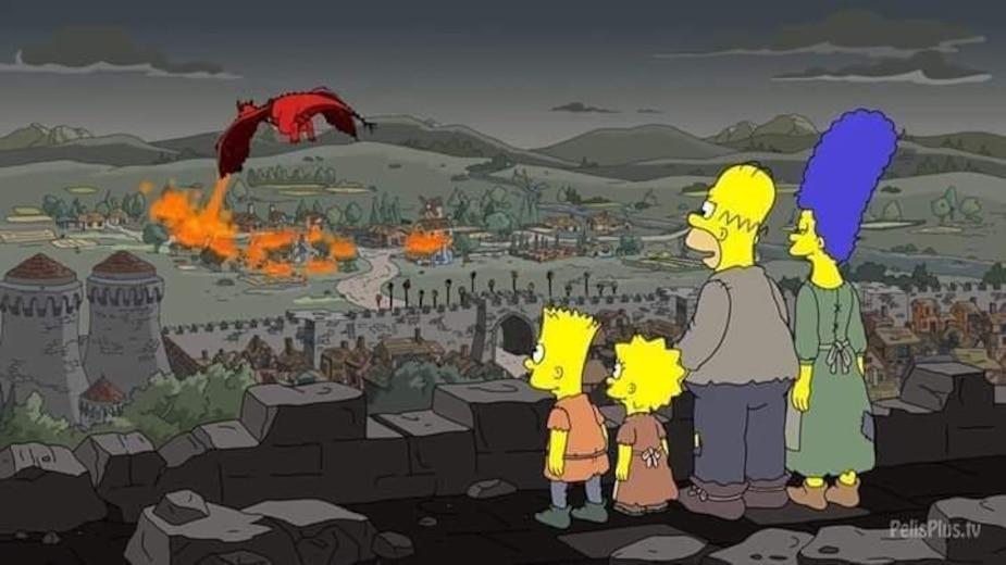 Image principale de l'article Les Simpson ont-ils devancé Game of Thrones?