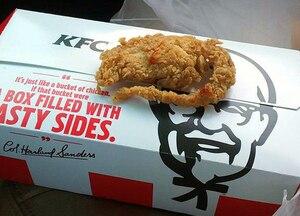Le «rat frit» de PFK est un morceau de poulet
