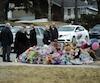 Samedi, des gens se sont encore recueillis près d'où le corps de Rosalie a été retrouvé dans le secteur de Charlesbourg, à Québec.