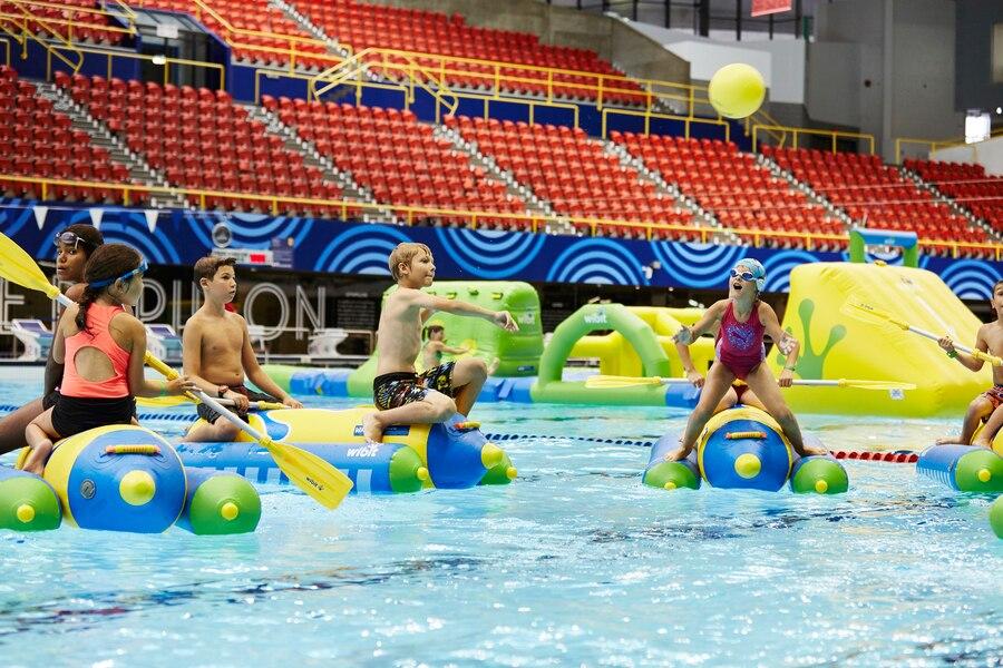 Un centre sportif wibit pour les f tes jdm for Club de natation piscine parc olympique