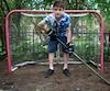Âgé de 13 ans, Jaden Pantazis a arrêté pendant 2 mois ses activités sportives après une commotion sportive au hockey.