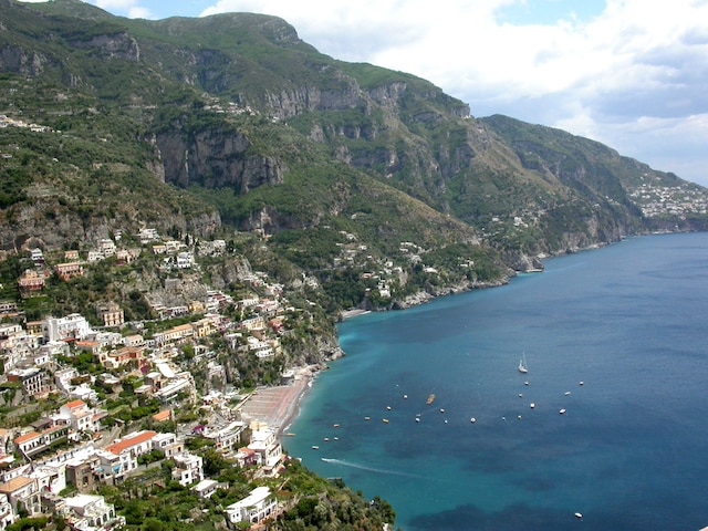 Positano, sur la Côte Amalfitaine en Italie.