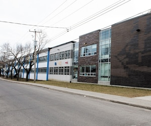 Selon nos informations, des élèves de l'école René-Guénette de Montréal-Nord (ci-dessus) ne seraient pas allés en classe lundi. Leurs parents souhaitent protester contre l'entrée en vigueur du cours d'éducation à la sexualité prévue pour l'automne.