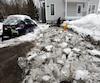 Cela fait une semaine que la rivière Saint-Charles est sortie de son lit pour inonder le quartier Duberger-Les Saules, à Québec.