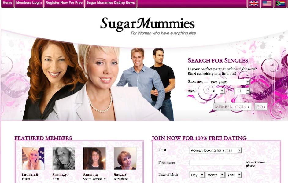 Free online sugar mummy dating site