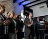 L'activité, qui a eu lieu dans un hôtel du Vieux-Québec, a été organisée par Équipe Labeaume en présence de la plupart des conseillers et des candidats du parti au scrutin du 5 novembre.