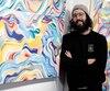 L'artiste Phelipe Soldevila, qui a présenté récemment une exposition solo dans un local de la Côte d'Abraham (photo), a peint plusieurs grandes murales à Québec, notamment celle de l'ancien cinéma Place Charest et l'œuvre éphémère en hommage à Pearl Jam à L'Anti Bar & Spectacles qui a été effacée depuis.