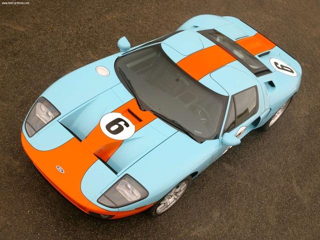 En 2006 et en 2017, Ford a commercialisé une version Heritage de sa GT.