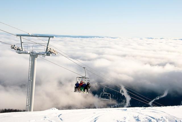 Sun Peaks est la deuxième station en importance au Canada, derrière Whistler-Blackcomb.