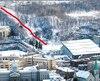 Les concurrents termineraient leur course au pied de l'Université de Montréal. Cet événement redonnerait vie àdes installations de l'anciennestation de ski, qui a été fermée en 1979 et qui a été envahie par la végétation, mais dont la longueur de 80 mètres serait conforme pour une compétition de ce niveau.