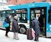 La nouvelle méthode de calcul des sociétés de transport analyse la validation des titres lorsque les clients entrent dans l'autobus ou le métro.