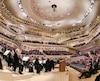 La soirée d'inauguration de la Philharmonie de l'Elbe, mercredi le 11 janvier 2017, à Hambourg.