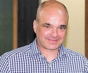 L'ancien vice-président de SNC-Lavalin était tout aussi souriant mardi que lorsqu'il avait été acquitté dans le scandale de corruption du CUSM l'an dernier (sur la photo).