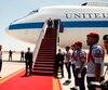 L'un des avions «Doomsday», prévus pour déplacer les chefs de l'armée américaine en cas d'attaque nucléaire, sont également utilisés pour le déplacement du ministre américain de la défense.