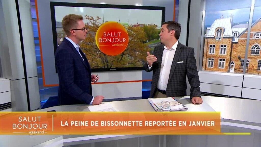 La peine de Bissonnette reportée à la fin janvier