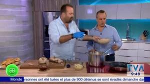 SB Cuisine | Poulet effiloché sauce BBQ