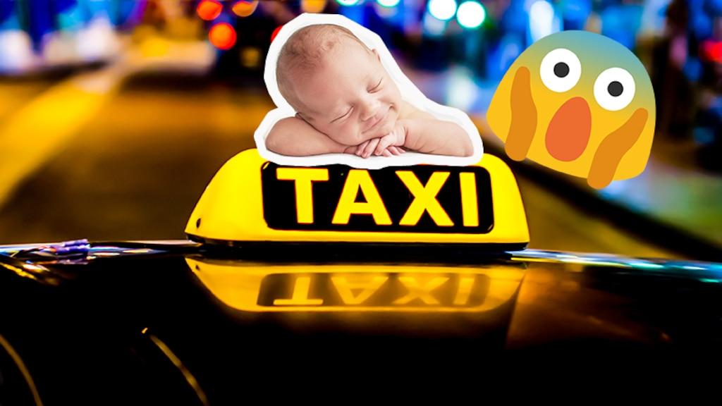 Des parents oublient leur bébé naissant dans le taxi à leur retour de l'hôpital