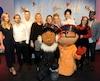 Plusieurs vedettes qui ont prêté leur voix aux personnages de La course des tuques ont assisté à la grande première de ce film d'animation québécois lundi soir au nouveau cinéma Le Clap, à Loretteville.