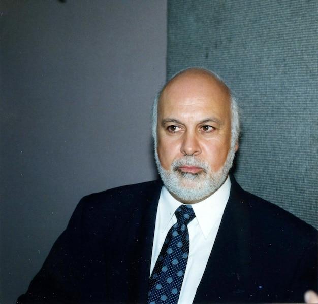 René Angelil aout 1998 PHOTO CLAUDE RIVEST / LES ARCHIVES / LE JOURNAL DE MONTREAL