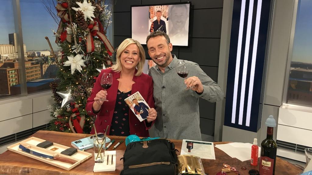 Cadeaux pour amateurs de vin!